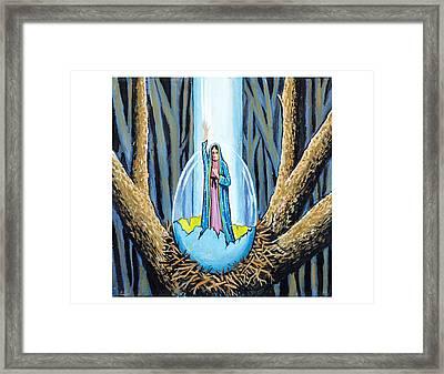 Easter Emergence Framed Print