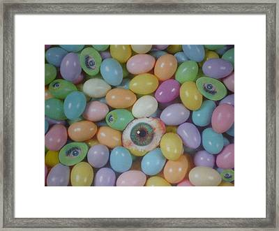 Framed Print featuring the mixed media Easter Eyes by Douglas Fromm