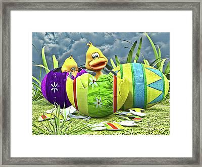 Easter Fun Framed Print