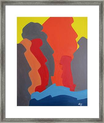 Easter Island Framed Print by Michael  TMAD Finney AKA MTEE