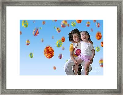 Easter Rain Framed Print