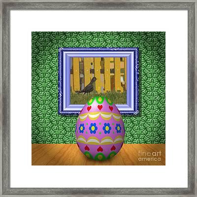 Easter Room Framed Print