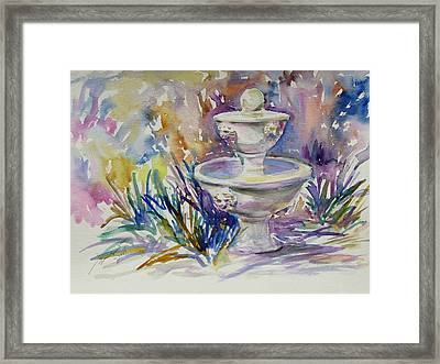 Easter Sketch Framed Print by Xueling Zou