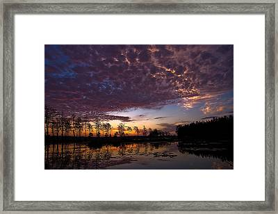 Easter Sonrise Framed Print by Dan Wells
