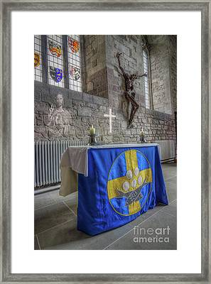 Framed Print featuring the photograph Easter  The Resurrection Of Jesus by Ian Mitchell