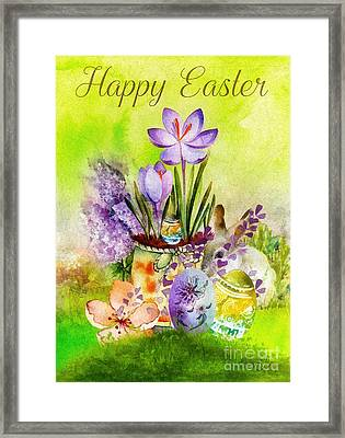 Easter Time Framed Print by Mo T
