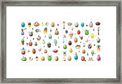 Eastereggs Framed Print by Kestutis Kasparavicius