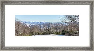 Easterly Winter View Framed Print