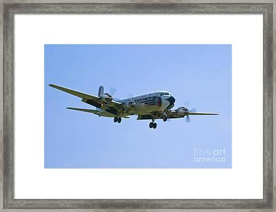 Eastern Airlines Dc-6 Framed Print