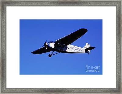 Eastern Airlines Eal, Ford Tri-motor 4-at-e, Nc8407 Framed Print by Wernher Krutein