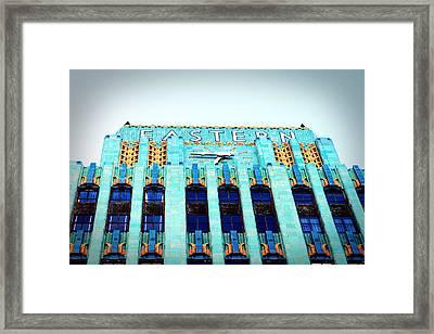 Eastern Building Framed Print by Ariane Moshayedi