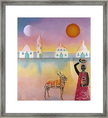 Eastern Donkey Framed Print