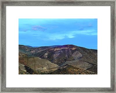 Eastern Hills Framed Print