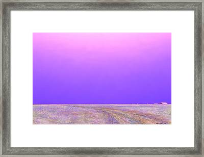 Framed Print featuring the digital art Eastern Horizon by Kerry Beverly