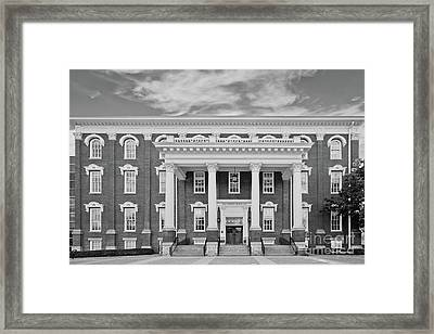 Eastern Kentucky University Building Framed Print by University Icons