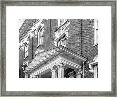 Eastern Kentucky University Crabbe Library Detail Framed Print by University Icons