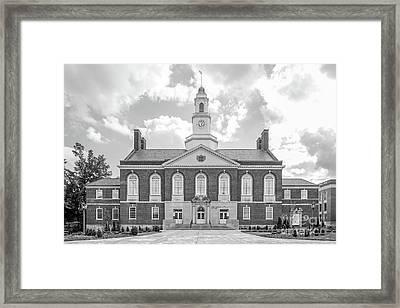 Eastern Kentucky University Keen Johnson Building Framed Print by University Icons