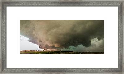 Eastern Nebraska Moderate Risk Chase Day 007 Framed Print