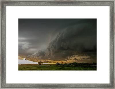 Eastern Nebraska Moderate Risk Chase Day Part 2 004 Framed Print