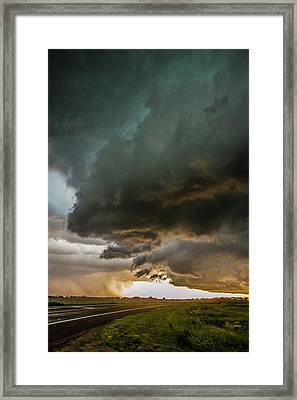 Eastern Nebraska Moderate Risk Chase Day Part 2 010 Framed Print