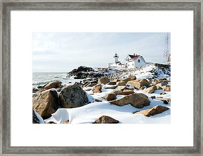 Eastern Point Light II Framed Print