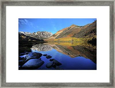 Eastern Sierra Reflection Framed Print