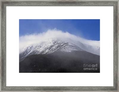 Eastern Slopes Of Mount Washington New Hampshire Usa Framed Print