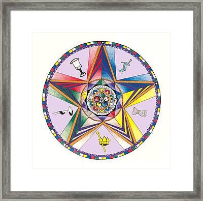 Eastern Star Framed Print