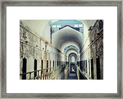 Eastern State Penitentiary Framed Print by JAMART Photography