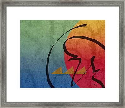 Eastern Sun Framed Print