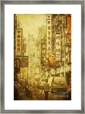 Eastern West Framed Print by Andrew Paranavitana