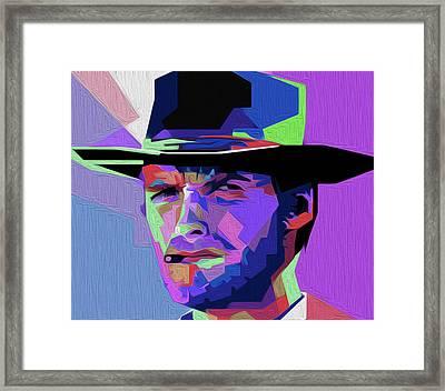 Eastwood 301a By Nixo Framed Print by Nicholas Nixo