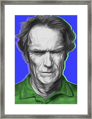 Eastwood 401a By Nixo Framed Print by Nicholas Nixo