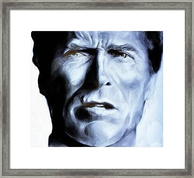 Eastwood #77,nixo Framed Print by Nicholas Nixo