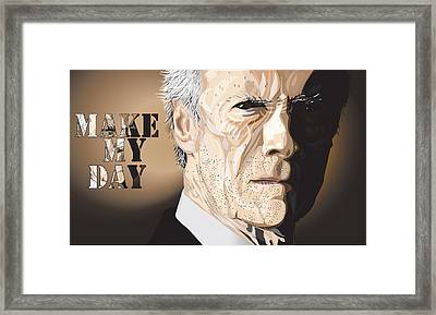 Eastwood Framed Print by Mike  Haslam