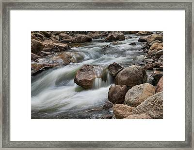 Framed Print featuring the photograph Easy Flowing by James BO Insogna