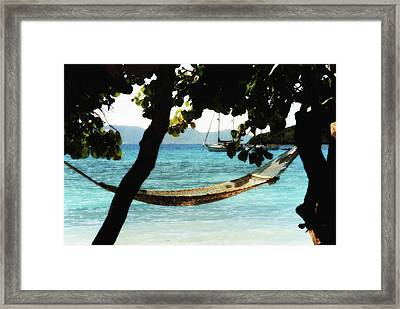 Framed Print featuring the photograph Easy Living by Carol Kinkead