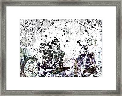 Easy Rider Framed Print by Dante Blacksmith