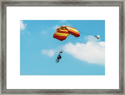 Easy Rider Framed Print by Norman Johnson