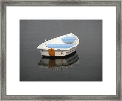 Easy Street Boat Basin Nantucket Ma Framed Print