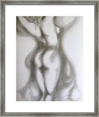 Easy Stretch Framed Print
