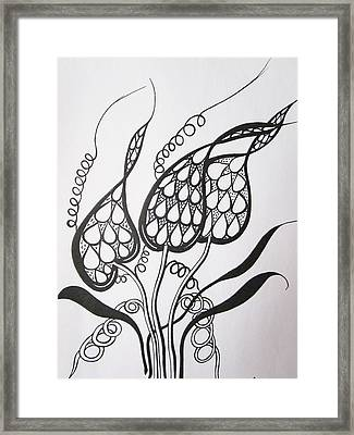 Easy To Understand Framed Print by Rosita Larsson