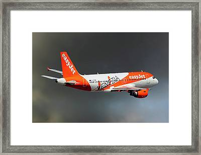 Easyjet Airbus A319-111 Framed Print