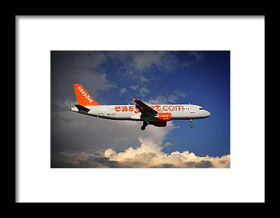 Easyjet Framed Prints