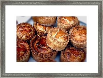Eat All The Pies Framed Print by Jez C Self