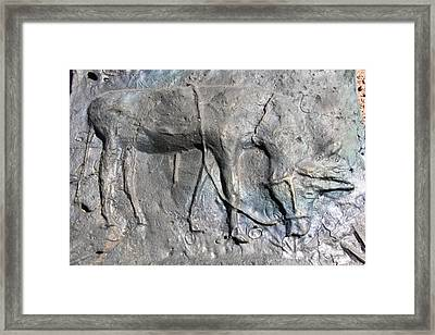 Eat And String Theory Framed Print by Thor Sigstedt