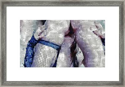 Eat Me By Mary Bassett Framed Print