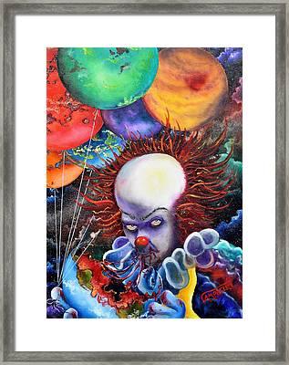 Eater Of Worlds Framed Print