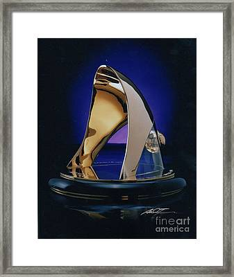 Eaton Quality Award Sculpture  Framed Print