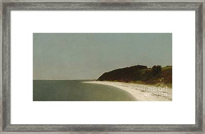 Eaton's Neck, Long Island, 1872  Framed Print